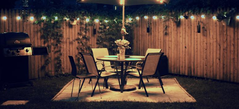 Backyard New London Nights